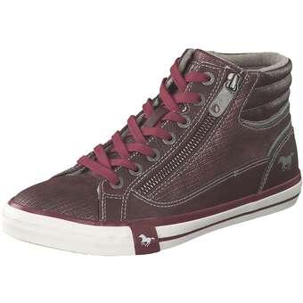 Sneaker High Damen rot