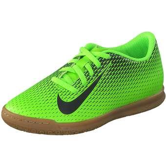 Nike Performance Jr Bravata II IC Fußball Mädchen|Jungen grün