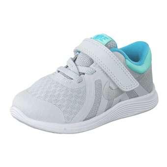 Nike Performance Revolution 4 TDV Trainer Mädchen Jungen silber