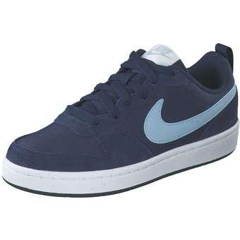 - Nike Court Borough Low 2 PE Sneaker Mädchen|Jungen blau - Onlineshop Schuhcenter