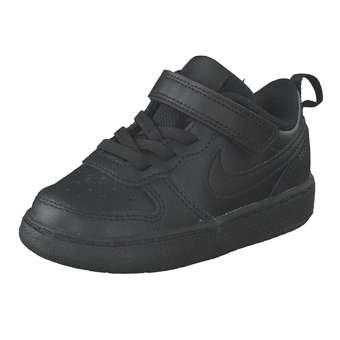 Minigirlschuhe - Nike Court Borough Low 2 Sneaker Mädchen Jungen schwarz - Onlineshop Schuhcenter
