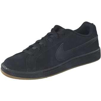 Sportswear Court Royale Suede Sneaker Herren schwarz