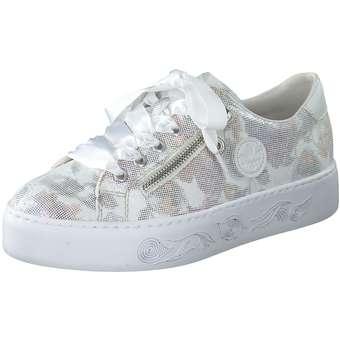 Rieker Plateau Sneaker bunt