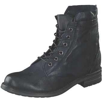 Post Xchange Schnürstiefelette Damen blau | Schuhe > Stiefel > Schnürstiefel | Post Xchange