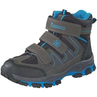 - Puccetti Klett Boots Jungen grau - Onlineshop Schuhcenter