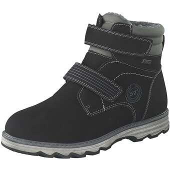 Puccetti Klett Boots Jungen schwarz
