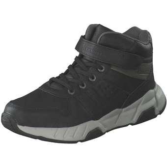 - Puccetti Klett Boots Jungen schwarz - Onlineshop Schuhcenter