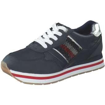Puccetti Plateau Sneaker blau