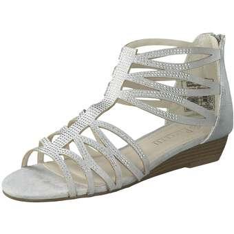 Puccetti Sandale Damen silber