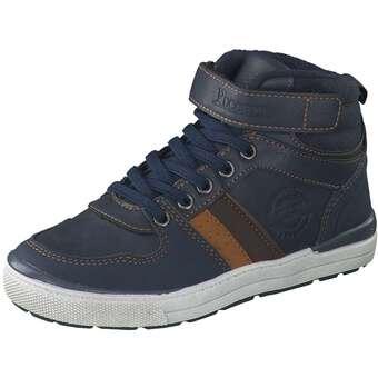 - Puccetti Schnür Boots Jungen blau - Onlineshop Schuhcenter