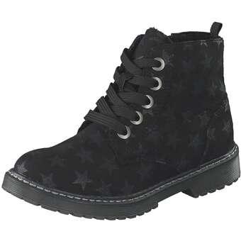 - Puccetti Schnür Boots Mädchen schwarz - Onlineshop Schuhcenter