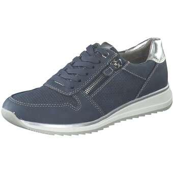 Halbschuhe für Frauen - Puccetti Schnürer Damen blau  - Onlineshop Schuhcenter