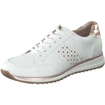 Halbschuhe für Frauen - Puccetti Schnürer Damen weiß  - Onlineshop Schuhcenter