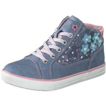 Puccetti Sneaker Bootie Mädchen blau