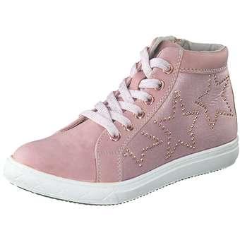 - Puccetti Sneaker Bootie Mädchen rosa - Onlineshop Schuhcenter