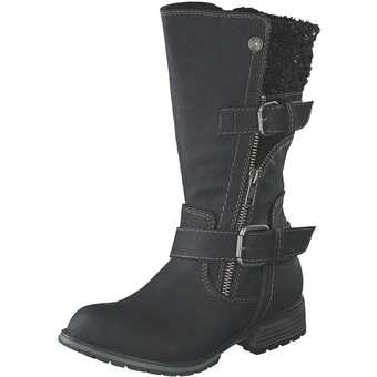 - Puccetti Stiefel Mädchen schwarz - Onlineshop Schuhcenter