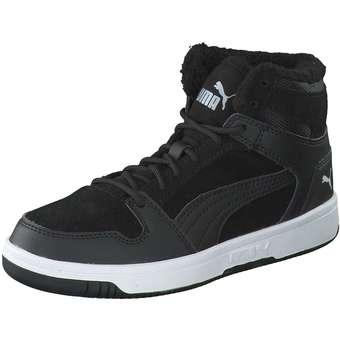 Puma Lifestyle Rebound Layup FurSD Jr Sneaker