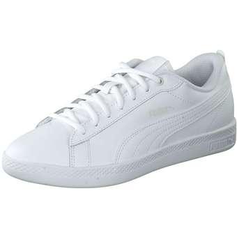 Lifestyle Smash Wns v2 L Sneaker Damen weiß