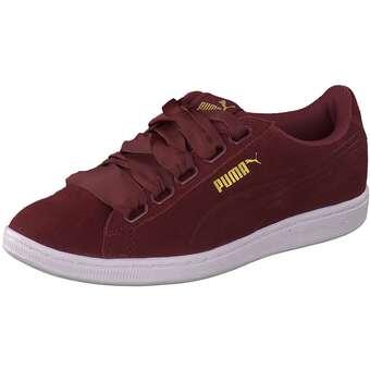Puma Lifestyle - Vikky Ribbon Sneaker - rot