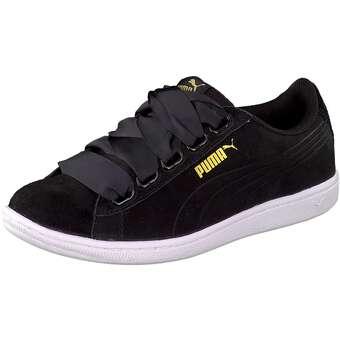 Puma Lifestyle - Vikky Ribbon Sneaker - schwarz