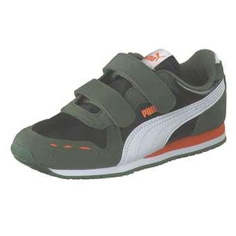 Minigirlschuhe - PUMA Cabana Racer SL V PS Sneaker Mädchen|Jungen schwarz - Onlineshop Schuhcenter
