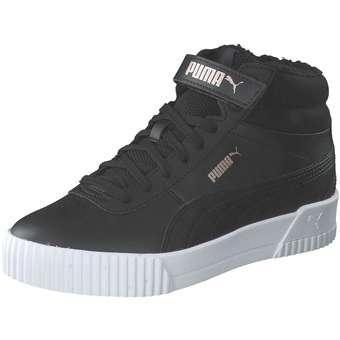 - PUMA Carina Mid FUR Jr Sneaker Mädchen schwarz - Onlineshop Schuhcenter
