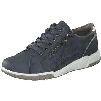 Halbschuhe - Relife Schnürer Damen blau  - Onlineshop Schuhcenter