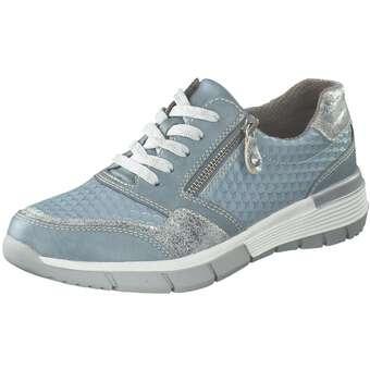 Halbschuhe für Frauen - Relife Schnürer Damen blau  - Onlineshop Schuhcenter