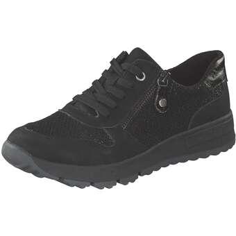 Halbschuhe für Frauen - Relife Schnürer Damen schwarz  - Onlineshop Schuhcenter