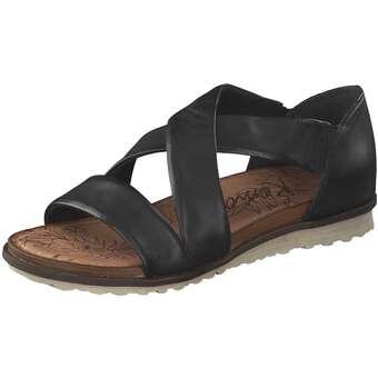 Remonte Sandale Damen schwarz