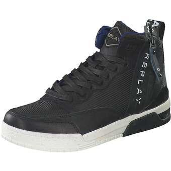 Sneaker High Herren schwarz