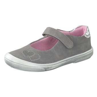 Minigirlschuhe - Richter Spangenballerina Mädchen grau - Onlineshop Schuhcenter