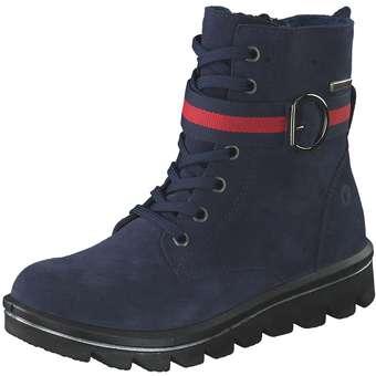 - Ricosta Ella Schnür Boots Mädchen blau - Onlineshop Schuhcenter