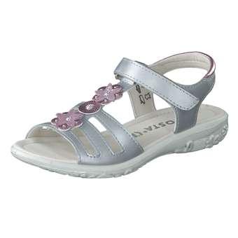 Minigirlschuhe - Ricosta Sandale Mädchen silber - Onlineshop Schuhcenter