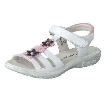 Minigirlschuhe - Ricosta Sandale Mädchen weiß - Onlineshop Schuhcenter