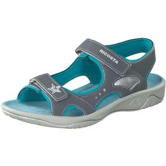 Ricosta Trekking Sandale Mädchen grau