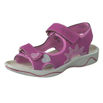 Minigirlschuhe - Ricosta Trekkingsandale Mädchen pink - Onlineshop Schuhcenter