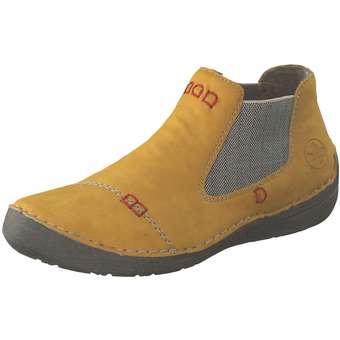 Stiefel - Rieker Chelsea Boot Damen gelb  - Onlineshop Schuhcenter