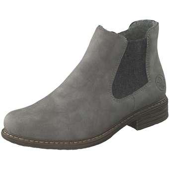 Rieker Chelsea Boots grau