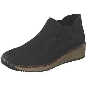 Rieker Chelsea Boots Damen schwarz | Schuhe > Boots > Chelsea-Boots | Rieker