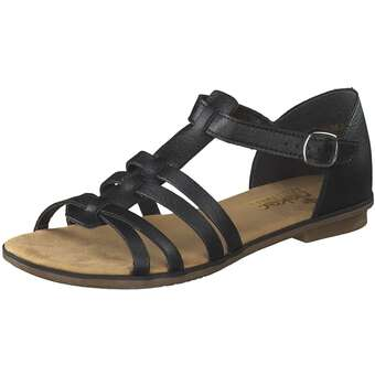 Rieker Sandale Damen schwarz
