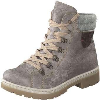 Rieker - Schnür Boots - grau