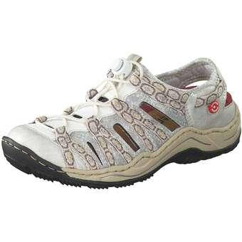 Slipper - Rieker Slipper Damen bunt  - Onlineshop Schuhcenter
