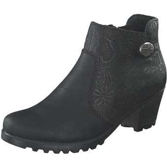 Rieker Stiefelette Damen schwarz | Schuhe > Stiefeletten | Schwarz | Rieker