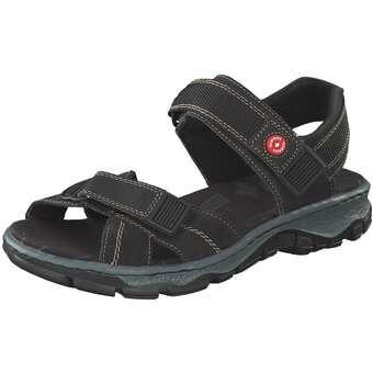 Sandalen für Frauen - Rieker Trekkingsandale Damen schwarz  - Onlineshop Schuhcenter