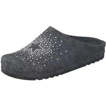 Hausschuhe für Frauen - Rohde Riesa Hausschuhe Damen grau  - Onlineshop Schuhcenter