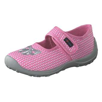 - Rohde Ballerina Hausschuh Mädchen rosa - Onlineshop Schuhcenter