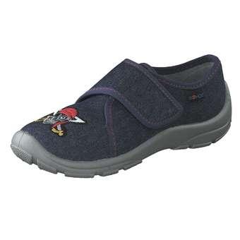 - Rohde Hausschuhe Jungen blau - Onlineshop Schuhcenter