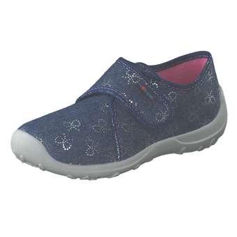 Minigirlschuhe - Rohde Hausschuhe Mädchen blau - Onlineshop Schuhcenter