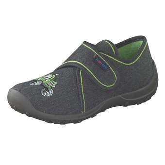 - Rohde Klett Hausschuhe Jungen grau - Onlineshop Schuhcenter